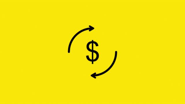 stockvideo's en b-roll-footage met valuta circulatie - yenteken