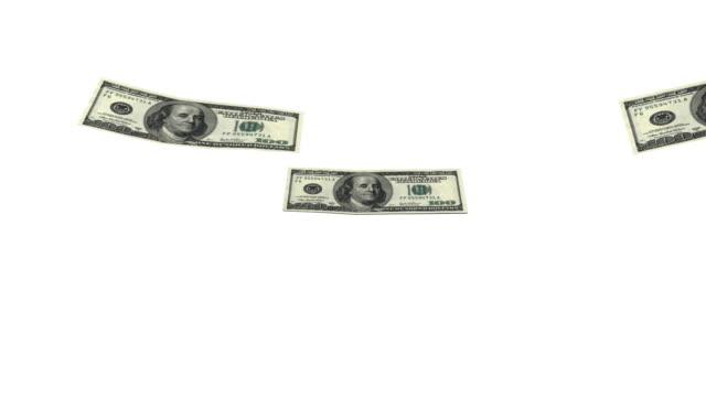 US Currency Rain video