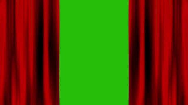 stockvideo's en b-roll-footage met gordijn open op groen scherm - photography curtains