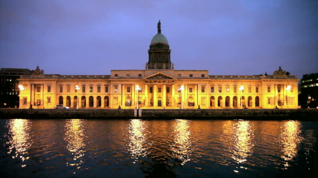 Custom House in Dublin video