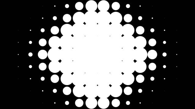 28 のカスタムトランジション マスク。点線パターン。 - 斑点点の映像素材/bロール