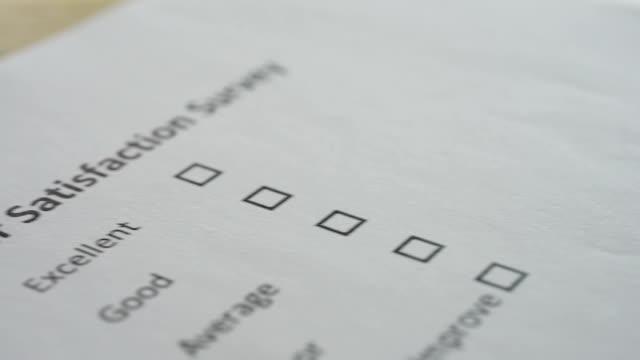 vidéos et rushes de hd enquête de satisfaction client - relation client