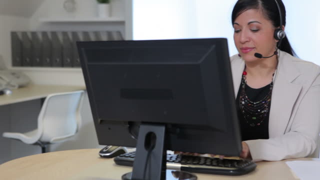 Customer service representative video