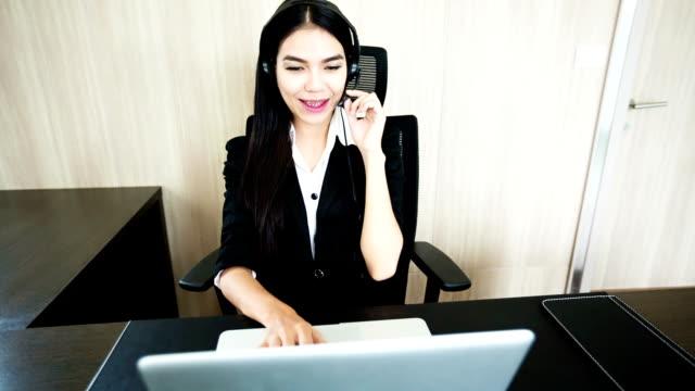 Kunden-support-Betreiber Arbeiten – Video