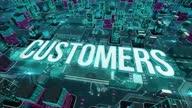 istock Customers digital technology concept 1320184135