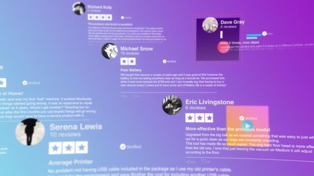 stockvideo's en b-roll-footage met reviews van klanten - website