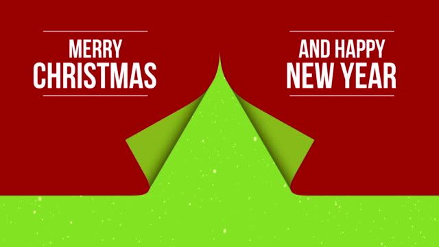 Customizing Greating Card  - Creative Christmas tree video