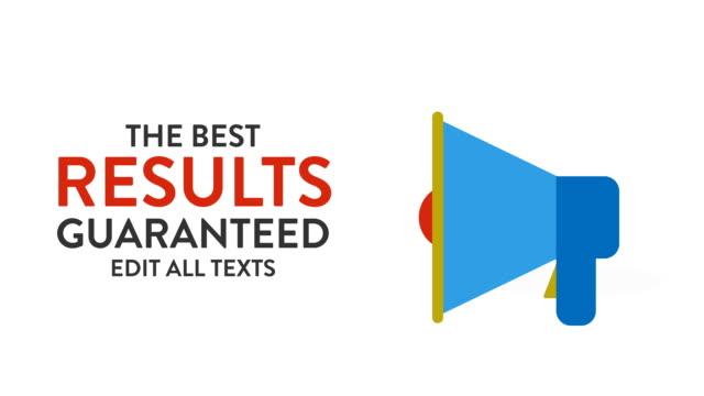 Customizing Promo  - Results Guaranteed video