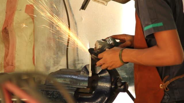 cut steel video