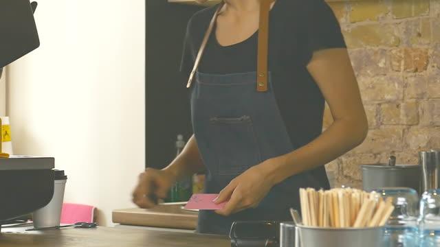 cut up credit card. - credit card стоковые видео и кадры b-roll