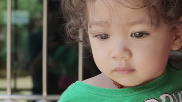 Cute baby girl video