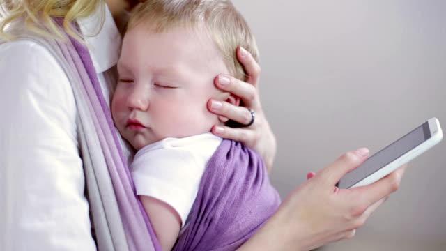 cute baby sleeping video