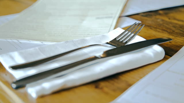 Cutlery in Shallow Depth video