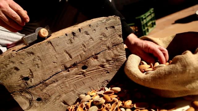 Cutting Almonds video