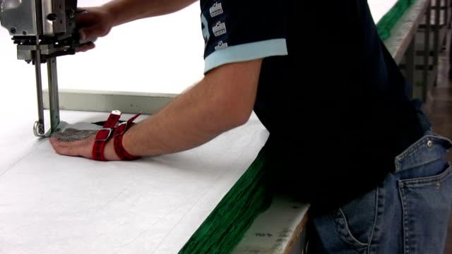 Cutting fabrics video