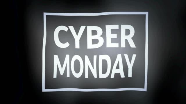 Cyber Monday flag video