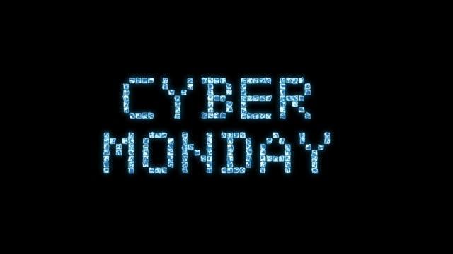 cyber monday text animation - cyber monday filmów i materiałów b-roll
