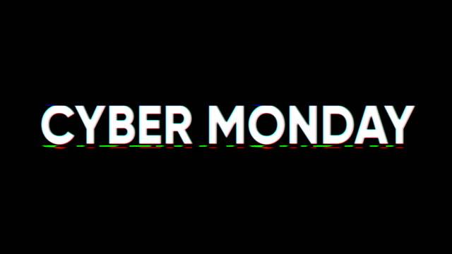 киберпонедельник - cyber monday стоковые видео и кадры b-roll