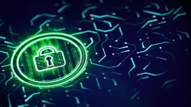 cyber security solution - безопасность сети стоковые видео и кадры b-roll
