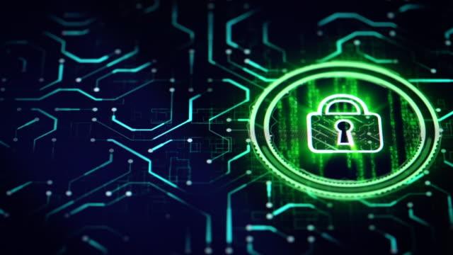 Cyber security solution Cyber security solution close-up on digital display. antivirus software stock videos & royalty-free footage