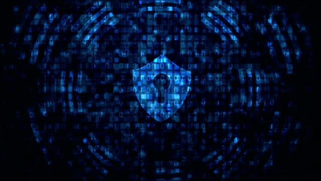 サイバーセキュリティ - ウイルス対策ソフト点の映像素材/bロール