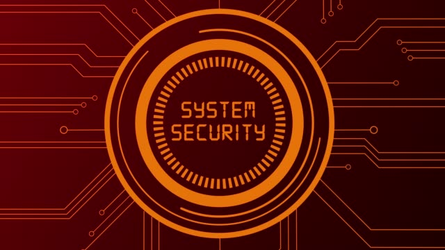 4k cybercrime and security - замок средство безопасности стоковые видео и кадры b-roll