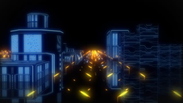 cyberspace city - ramverk bildbanksvideor och videomaterial från bakom kulisserna