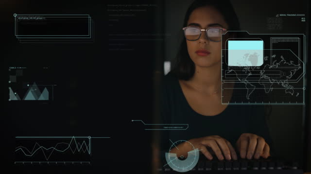 Cyberspace expertise are her thing