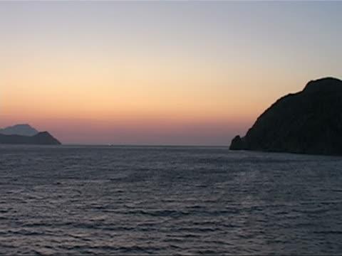 cycladic summer sunset - egeiska havet bildbanksvideor och videomaterial från bakom kulisserna