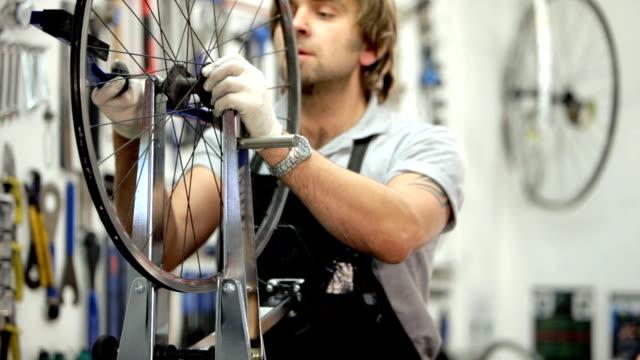cycle mechanic video