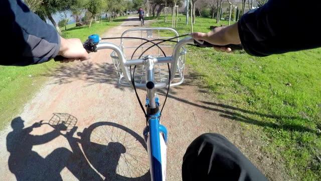 POV: Cycling in Izmir Cycling in Izmir. aegean sea stock videos & royalty-free footage