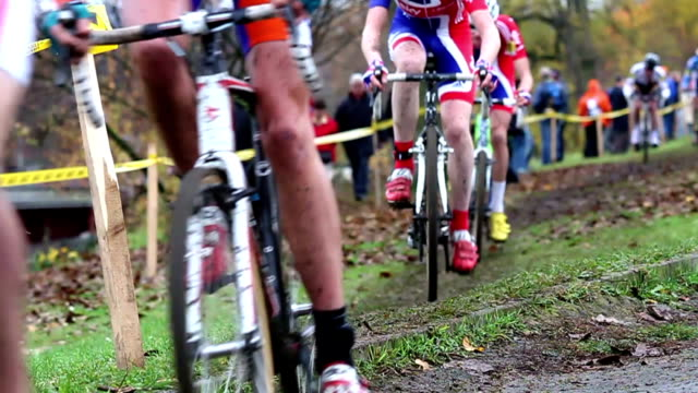 Cyclo-cross race video