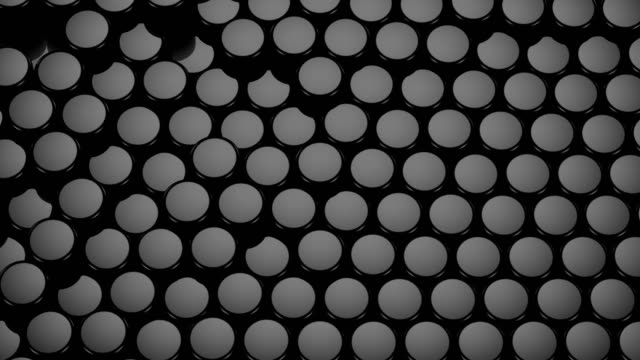Cylinders Form A Wave video