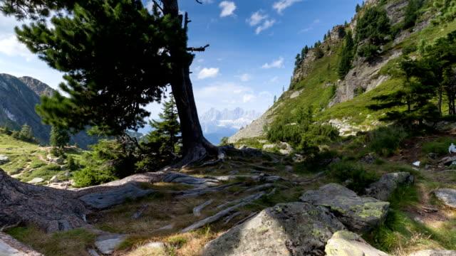 dachstein w austrii; upływ czasu - styria filmów i materiałów b-roll