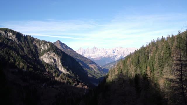 dachstein góry;  austria - styria filmów i materiałów b-roll