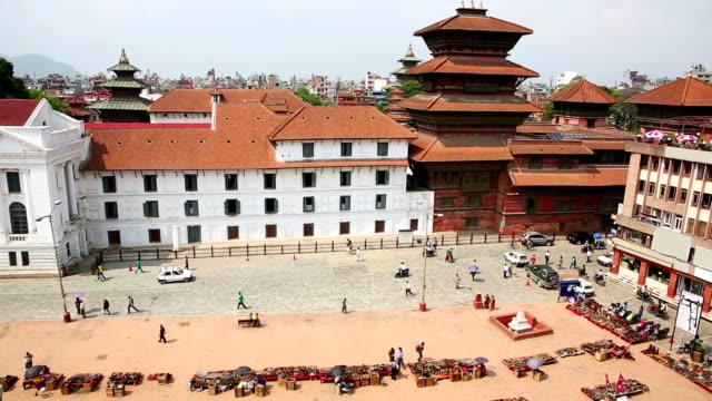 Daily traffic in Kathmandu video