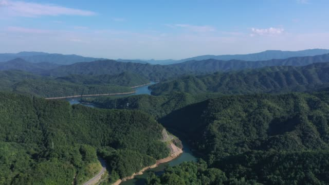 Dam in Jing'an County, Jiangxi, China
