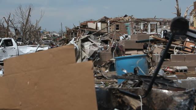 vídeos y material grabado en eventos de stock de daños de tornado - tornado