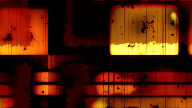 Damaged Film Grunge 1 Loopable Background video