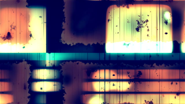Damaged Film Grunge 2 Loopable Background video