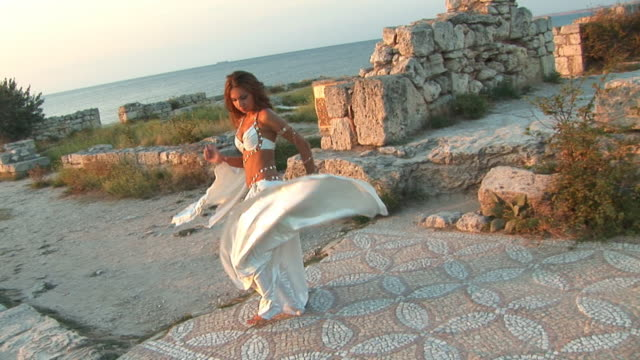 dance at the ancient ruins video