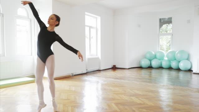 ダンスは純粋な芸術です。 - バレリーナ点の映像素材/bロール