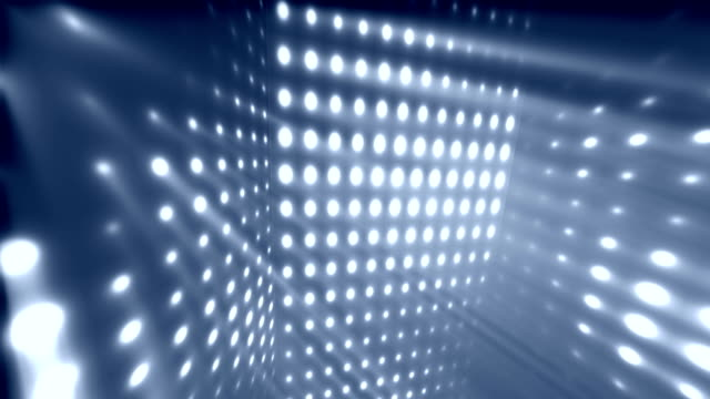 Dance Party Rays Blue Loopable Background video