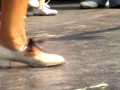 tancerz - ludzka kończyna filmów i materiałów b-roll