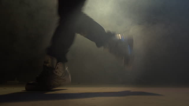 Dancers feet video