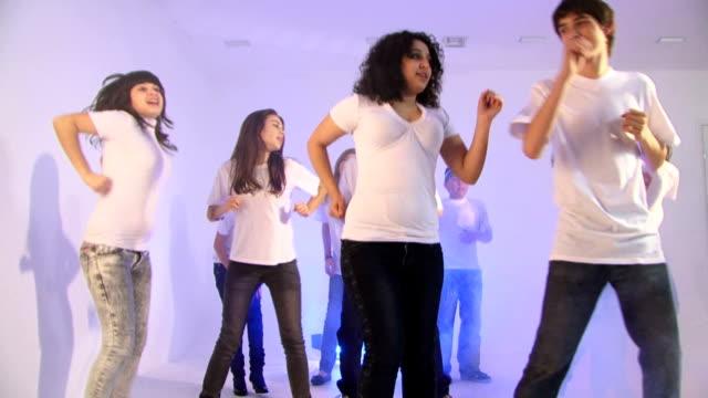 Dancing and singing video