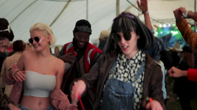 Dancing at a Festival video