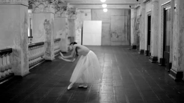 Dancing ballerina video