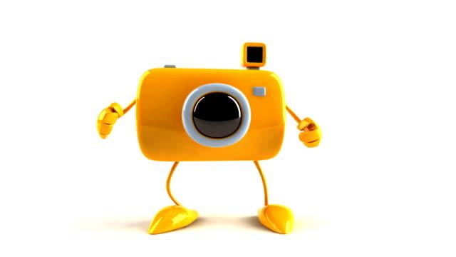 Dancing camera video