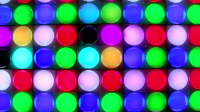 Dancing Disco Lights video